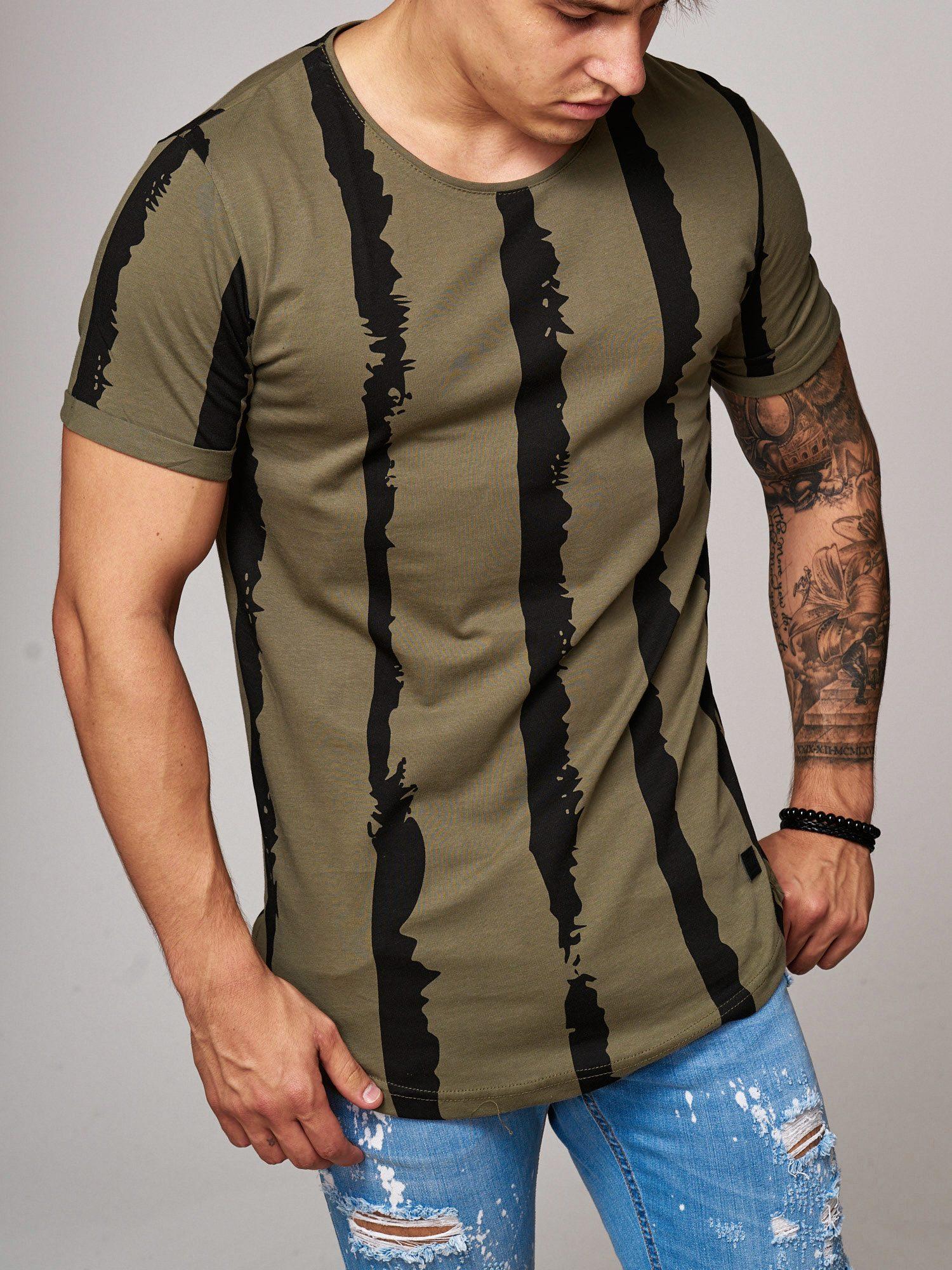 T-shirt-da-Uomo-Polo-Shirt-a-Maniche-Corte-printshirt-Polo-a-Maniche-Corte-17018-John-Kayna miniatura 19
