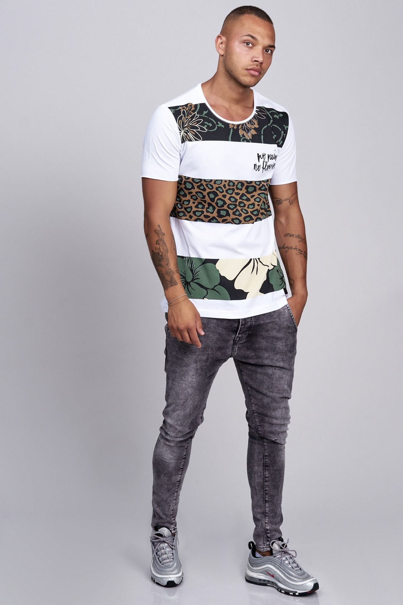 T-shirt-da-Uomo-Polo-Shirt-a-Maniche-Corte-printshirt-Polo-a-Maniche-Corte-17019-John-Kayna miniatura 22