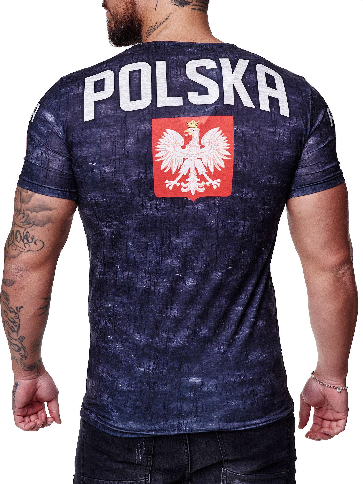 Paesi-da-Donna-T-shirt-A-Maniche-Corte-Girocollo-donne-CALCIO-Fanshirt-John-Kayna miniatura 95