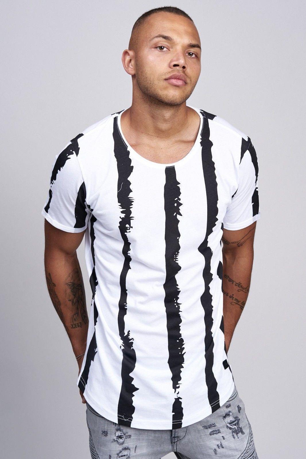 T-shirt-da-Uomo-Polo-Shirt-a-Maniche-Corte-printshirt-Polo-a-Maniche-Corte-17018-John-Kayna miniatura 7