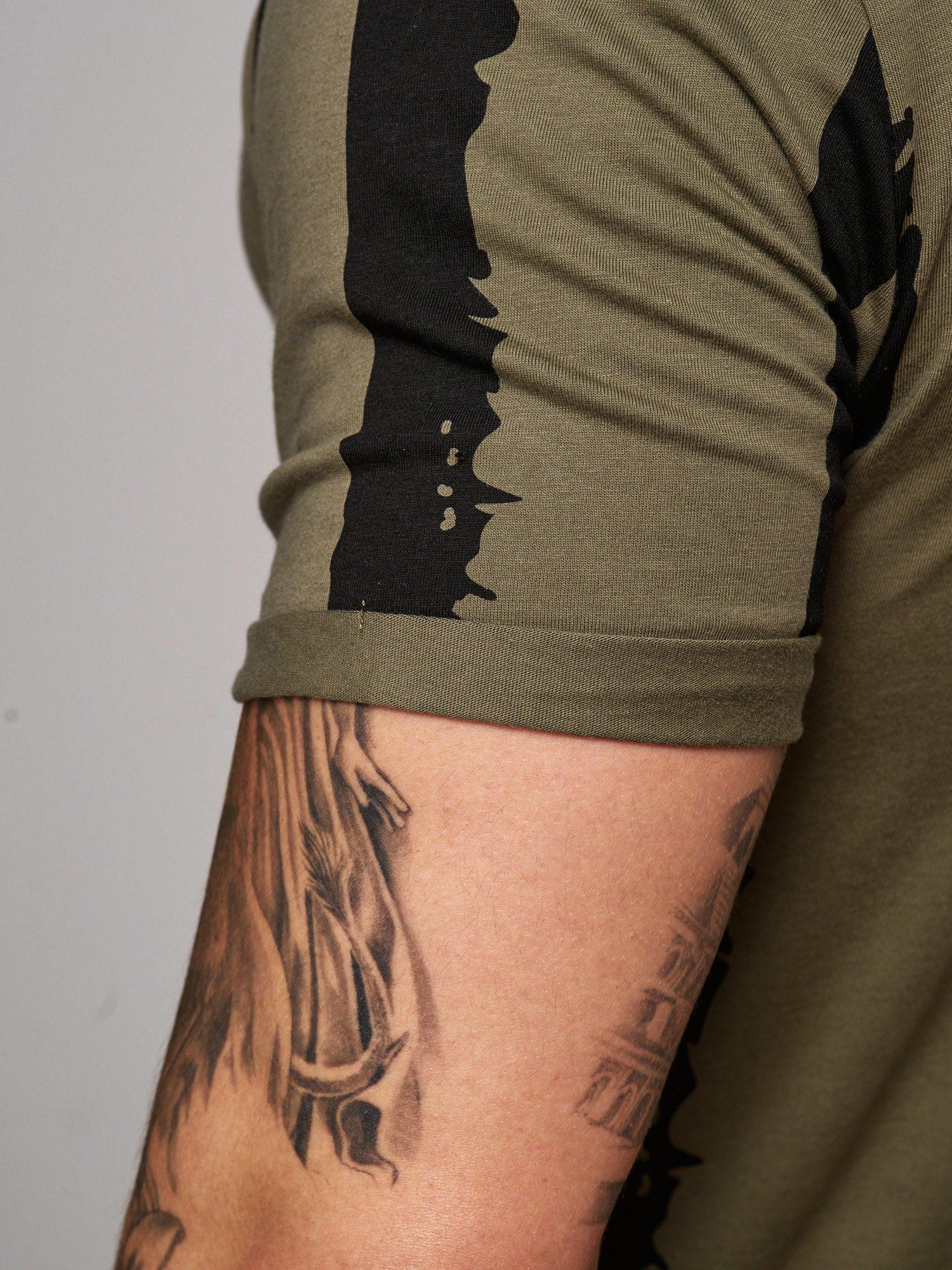 T-shirt-da-Uomo-Polo-Shirt-a-Maniche-Corte-printshirt-Polo-a-Maniche-Corte-17018-John-Kayna miniatura 22
