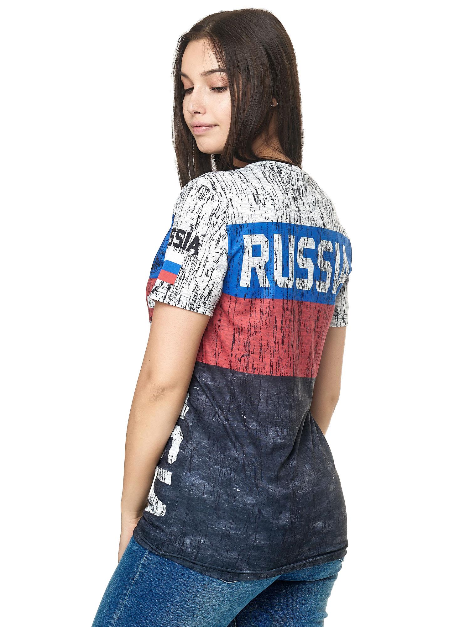 Paesi-da-Donna-T-shirt-A-Maniche-Corte-Girocollo-donne-CALCIO-Fanshirt-John-Kayna miniatura 99
