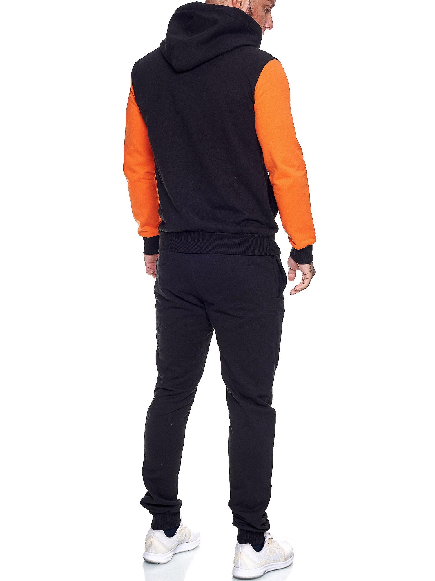 Damen-Jogginganzug-Frauen-Trainingsanzug-Sportanzug-Streetwear-JG-512-John-Kayna Indexbild 33