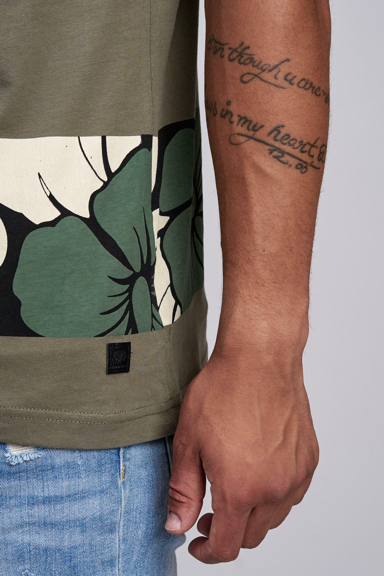 T-shirt-da-Uomo-Polo-Shirt-a-Maniche-Corte-printshirt-Polo-a-Maniche-Corte-17019-John-Kayna miniatura 13