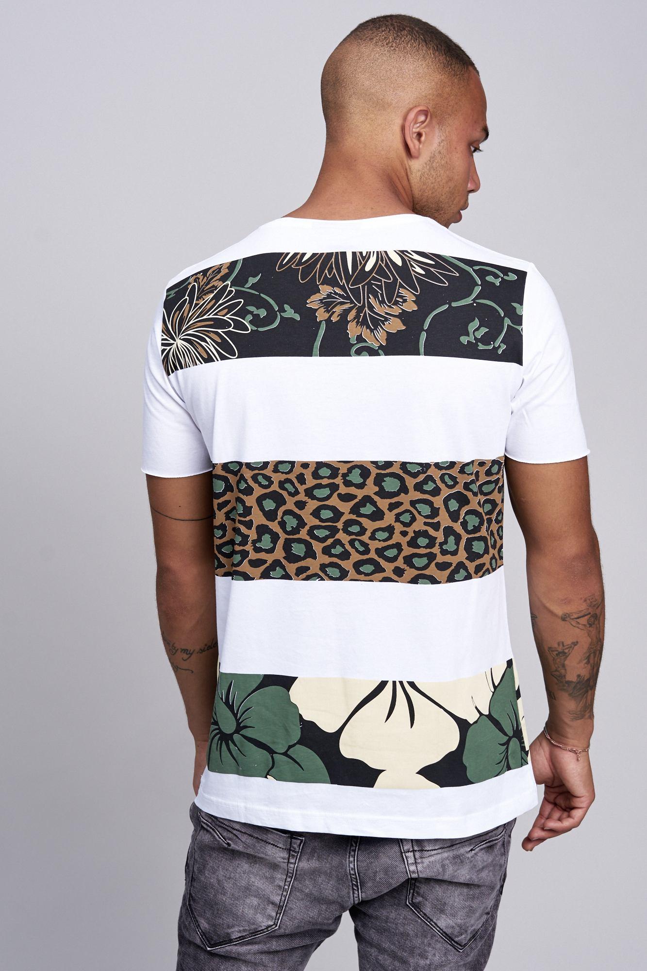 T-shirt-da-Uomo-Polo-Shirt-a-Maniche-Corte-printshirt-Polo-a-Maniche-Corte-17019-John-Kayna miniatura 28