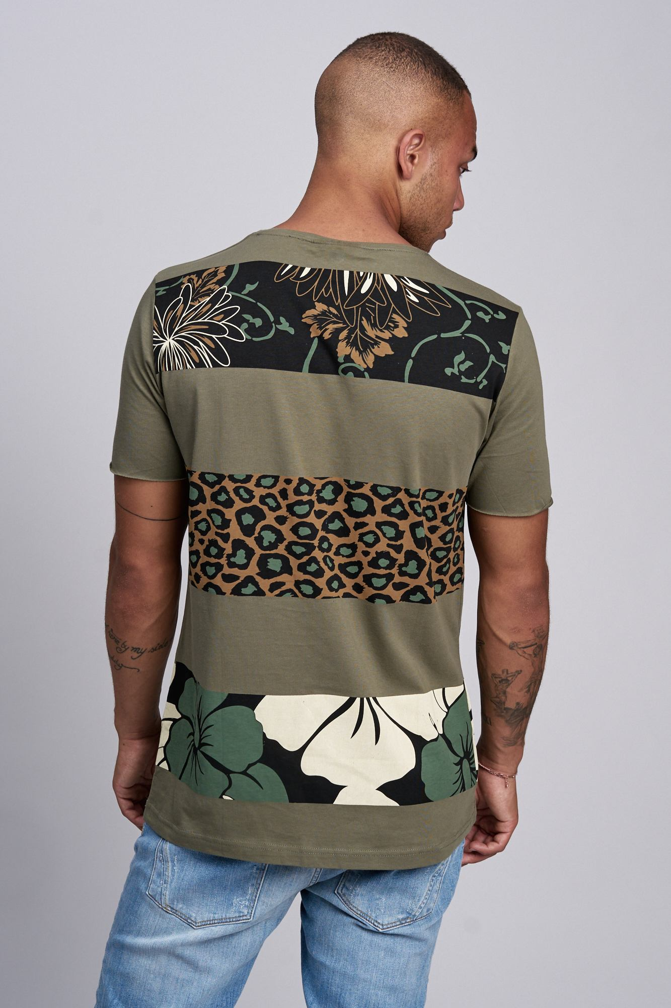 T-shirt-da-Uomo-Polo-Shirt-a-Maniche-Corte-printshirt-Polo-a-Maniche-Corte-17019-John-Kayna miniatura 11