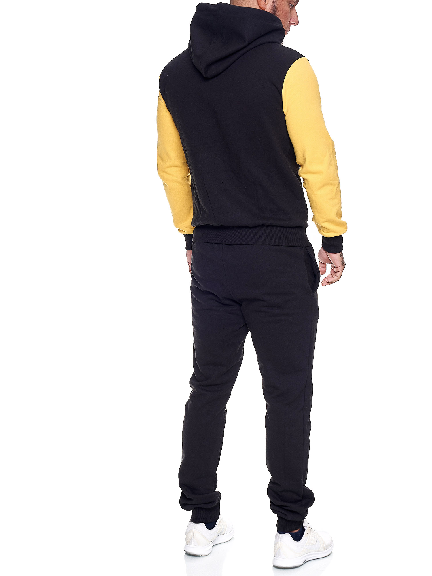 Damen-Jogginganzug-Frauen-Trainingsanzug-Sportanzug-Streetwear-JG-512-John-Kayna Indexbild 21