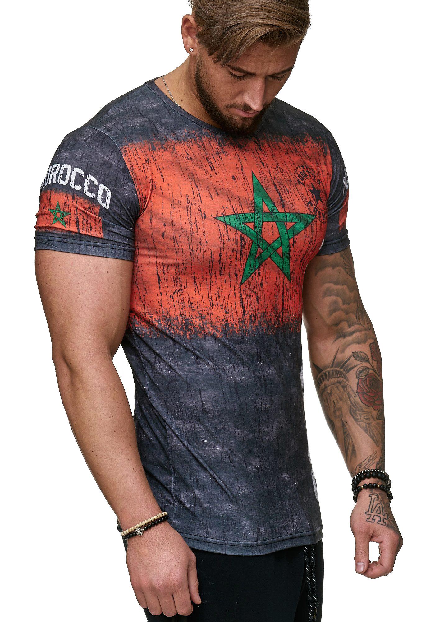 Paesi-da-Donna-T-shirt-A-Maniche-Corte-Girocollo-donne-CALCIO-Fanshirt-John-Kayna miniatura 29
