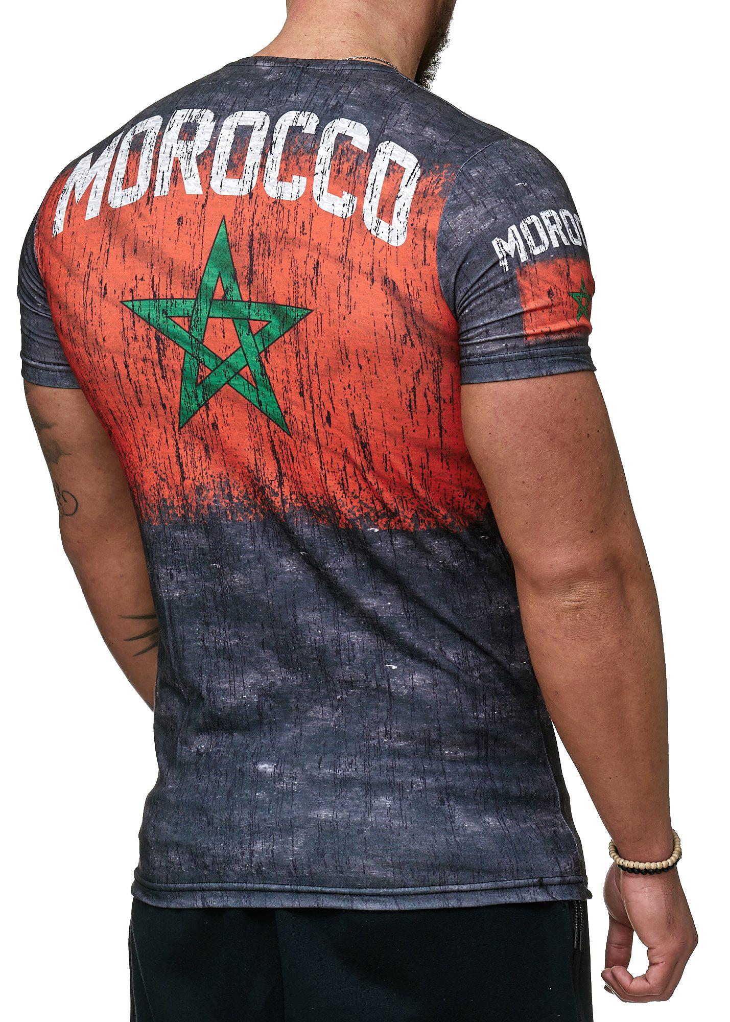 Paesi-da-Donna-T-shirt-A-Maniche-Corte-Girocollo-donne-CALCIO-Fanshirt-John-Kayna miniatura 30