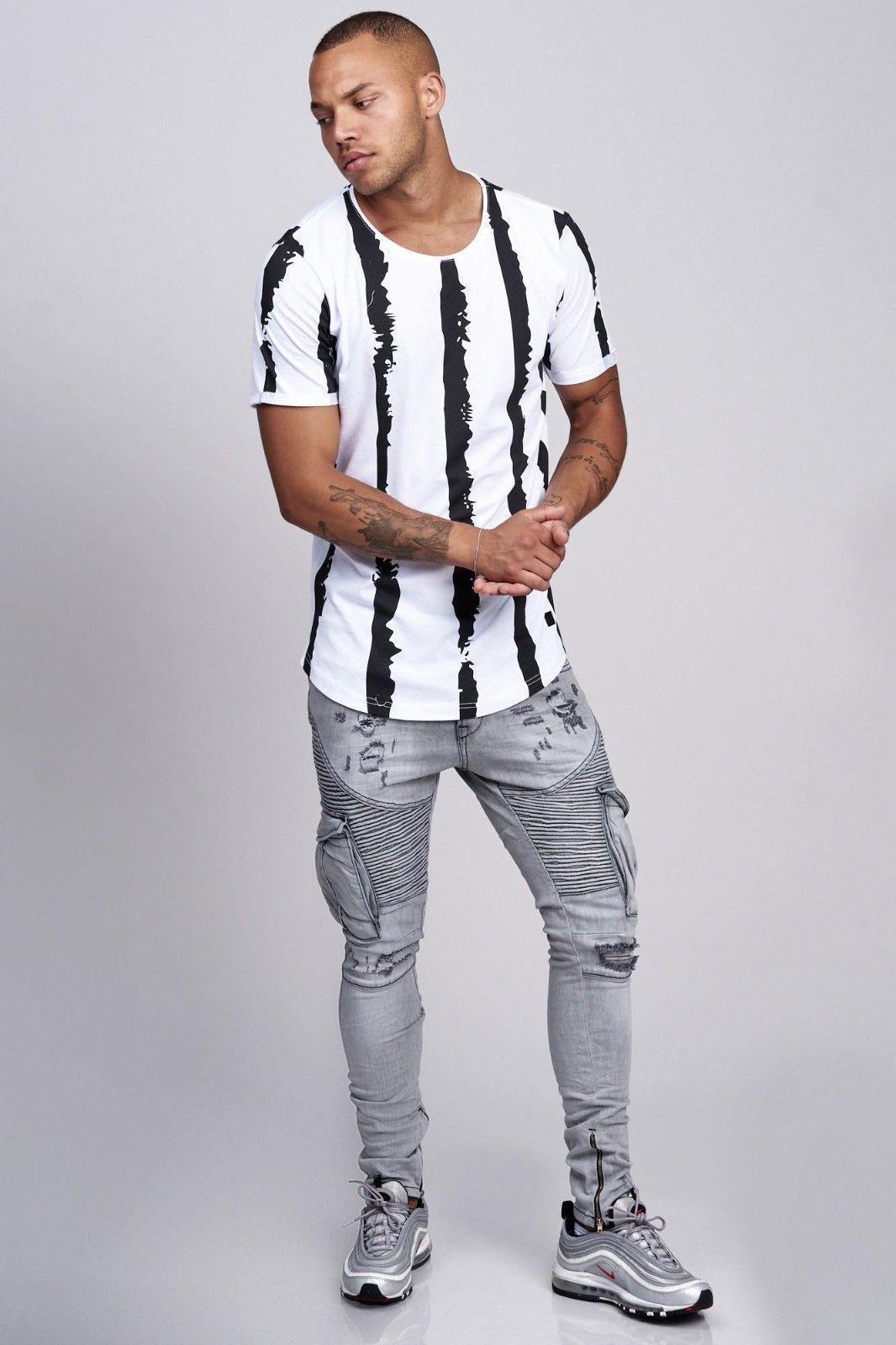 T-shirt-da-Uomo-Polo-Shirt-a-Maniche-Corte-printshirt-Polo-a-Maniche-Corte-17018-John-Kayna miniatura 12