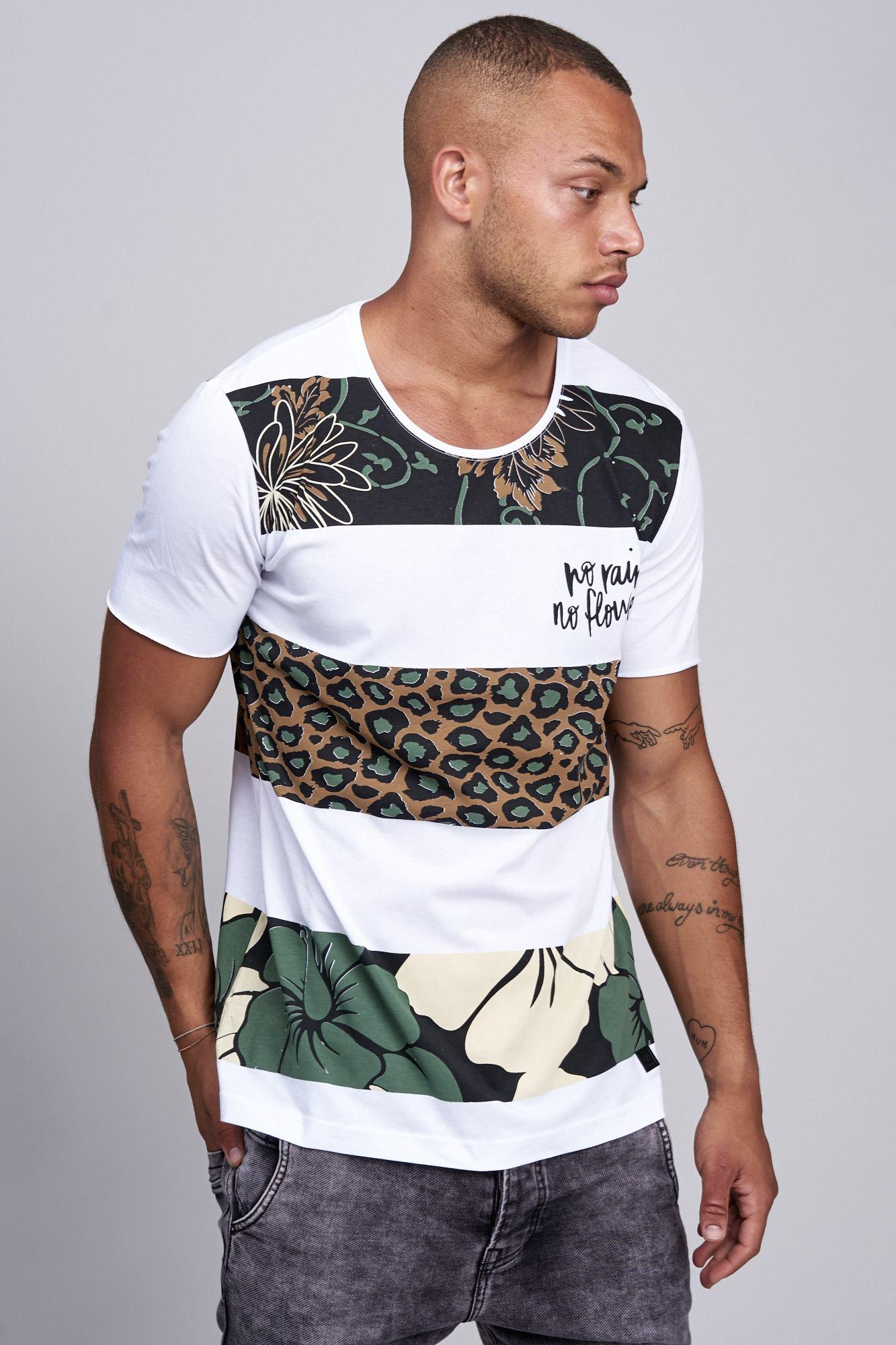 T-shirt-da-Uomo-Polo-Shirt-a-Maniche-Corte-printshirt-Polo-a-Maniche-Corte-17019-John-Kayna miniatura 23