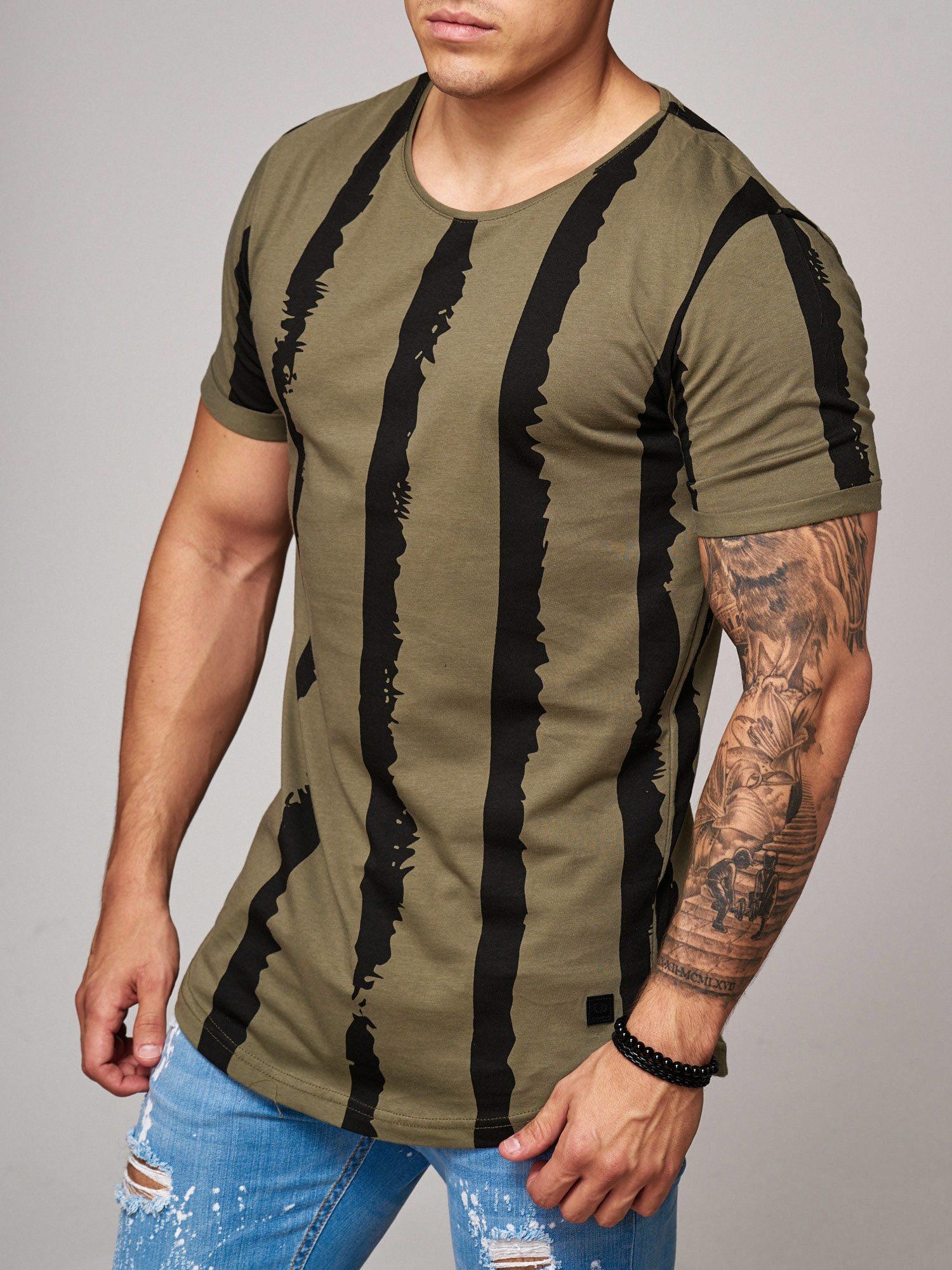 T-shirt-da-Uomo-Polo-Shirt-a-Maniche-Corte-printshirt-Polo-a-Maniche-Corte-17018-John-Kayna miniatura 20