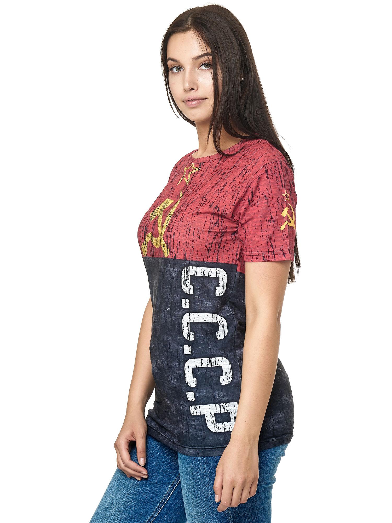 Paesi-da-Donna-T-shirt-A-Maniche-Corte-Girocollo-donne-CALCIO-Fanshirt-John-Kayna miniatura 18