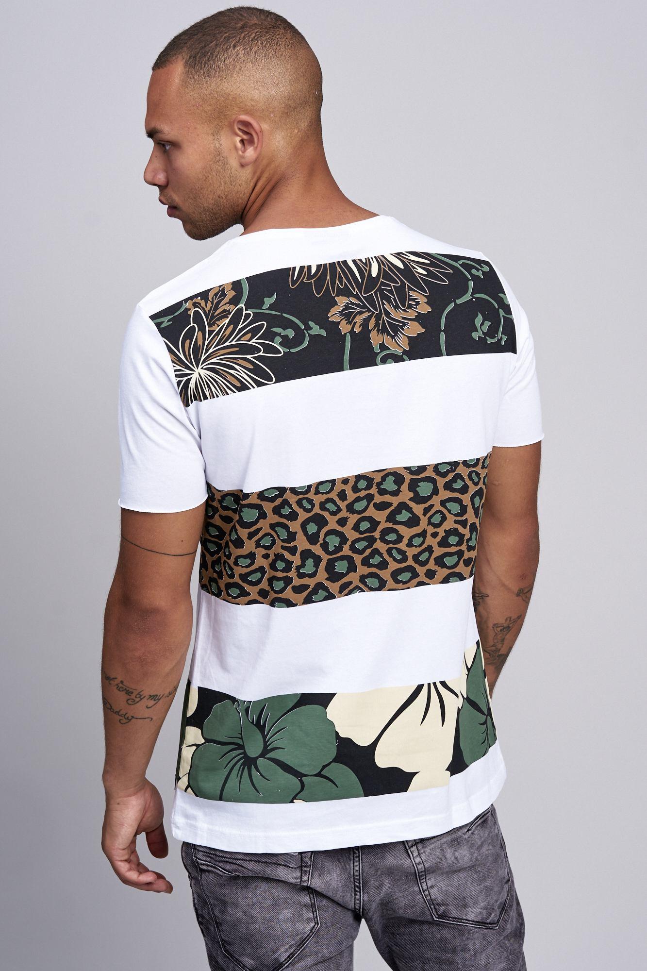T-shirt-da-Uomo-Polo-Shirt-a-Maniche-Corte-printshirt-Polo-a-Maniche-Corte-17019-John-Kayna miniatura 29