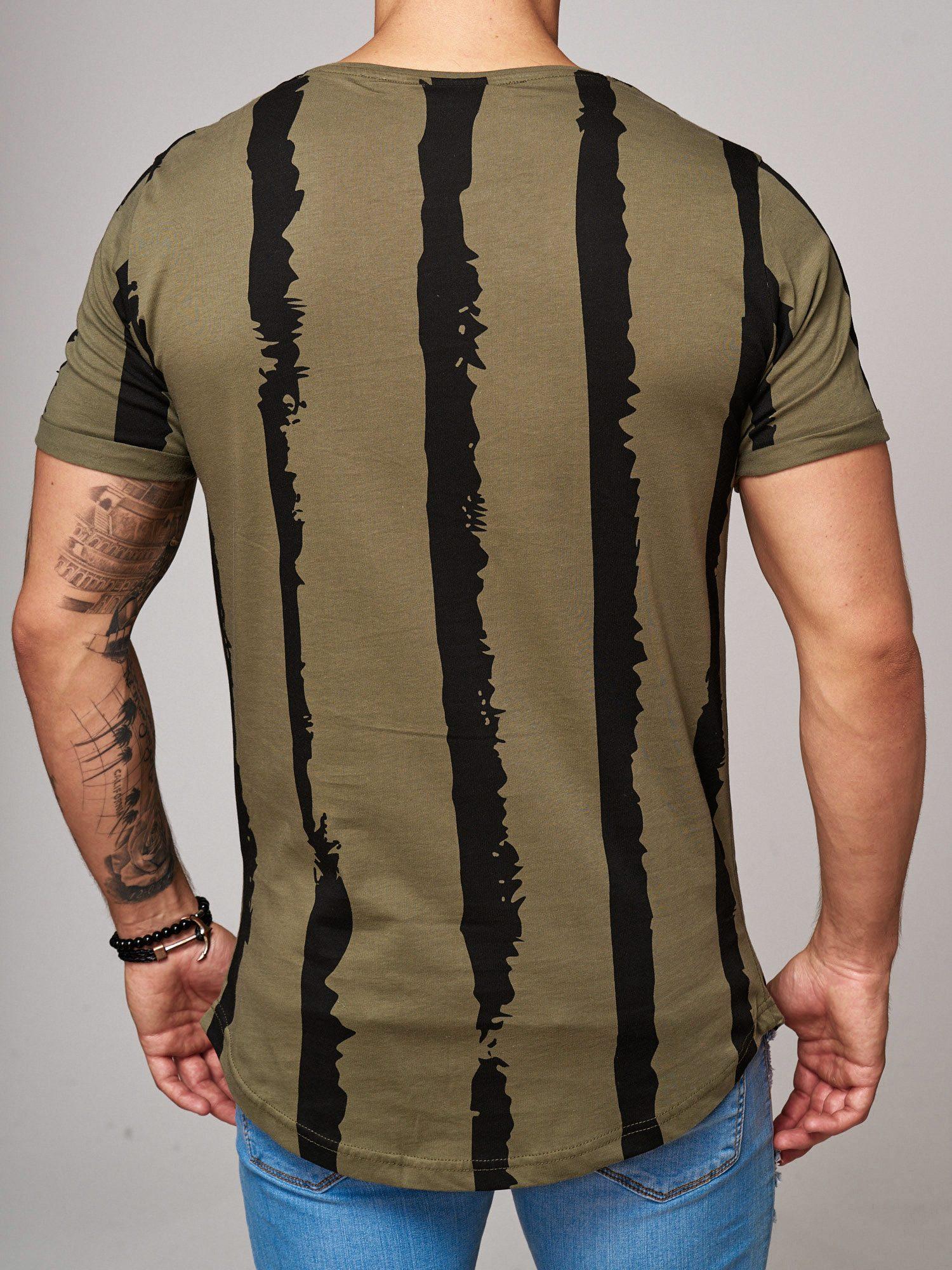 T-shirt-da-Uomo-Polo-Shirt-a-Maniche-Corte-printshirt-Polo-a-Maniche-Corte-17018-John-Kayna miniatura 21
