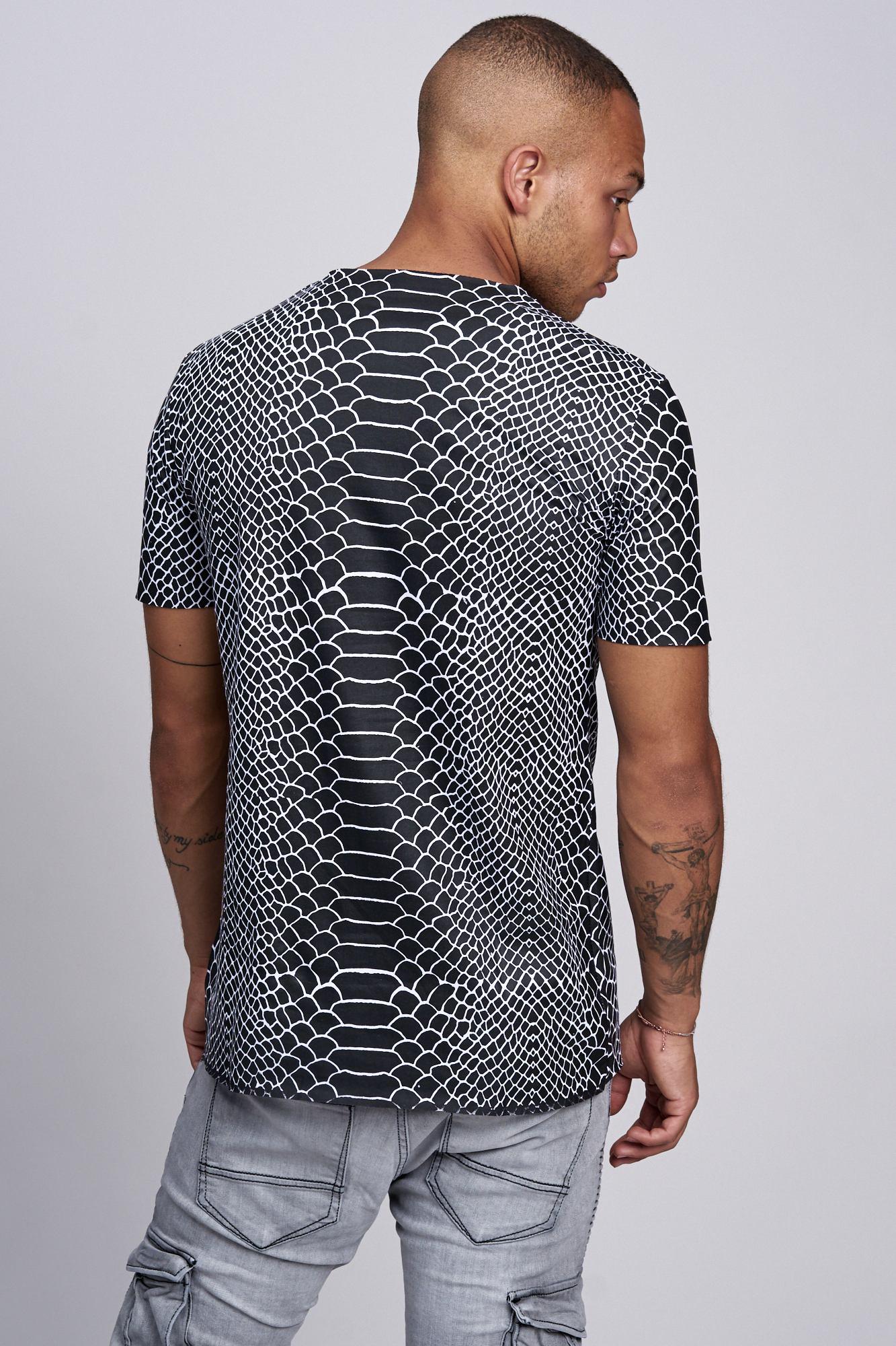 T-shirt-da-Uomo-Polo-Shirt-a-Maniche-Corte-printshirt-Polo-a-Maniche-Corte-17035-John-Kayna miniatura 13