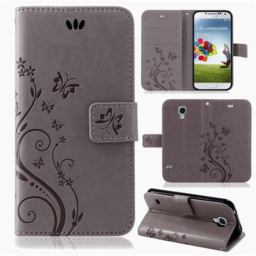 Samsung-Handy-Tasche-Handyhuelle-Schutz-Huelle-Blumen-Flip-Cover-Buch-Case-Etui Indexbild 26