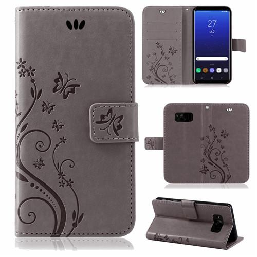 Samsung-Handy-Tasche-Handyhuelle-Schutz-Huelle-Blumen-Flip-Cover-Buch-Case-Etui Indexbild 66