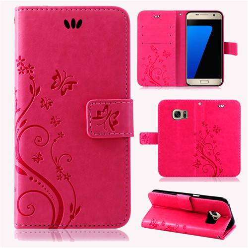Samsung-Handy-Tasche-Handyhuelle-Schutz-Huelle-Blumen-Flip-Cover-Buch-Case-Etui Indexbild 60