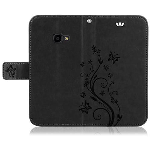 Samsung-Handy-Tasche-Handyhuelle-Schutz-Huelle-Blumen-Flip-Cover-Buch-Case-Etui Indexbild 201