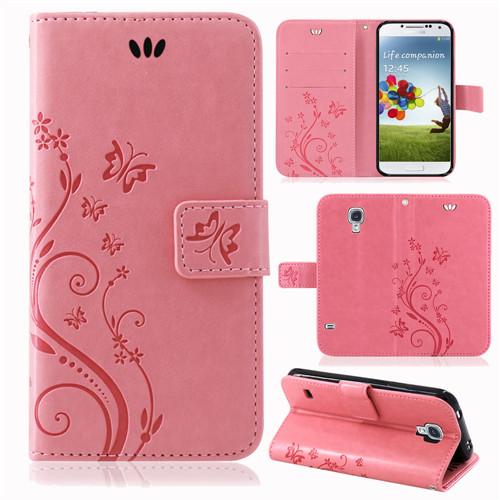 Samsung-Handy-Tasche-Handyhuelle-Schutz-Huelle-Blumen-Flip-Cover-Buch-Case-Etui Indexbild 27