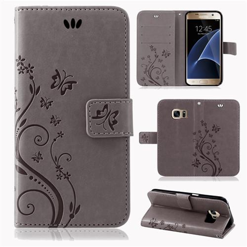 Samsung-Handy-Tasche-Handyhuelle-Schutz-Huelle-Blumen-Flip-Cover-Buch-Case-Etui Indexbild 56