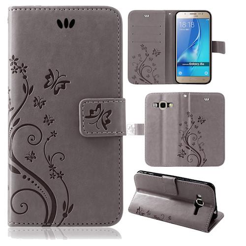 Samsung-Handy-Tasche-Handyhuelle-Schutz-Huelle-Blumen-Flip-Cover-Buch-Case-Etui Indexbild 166