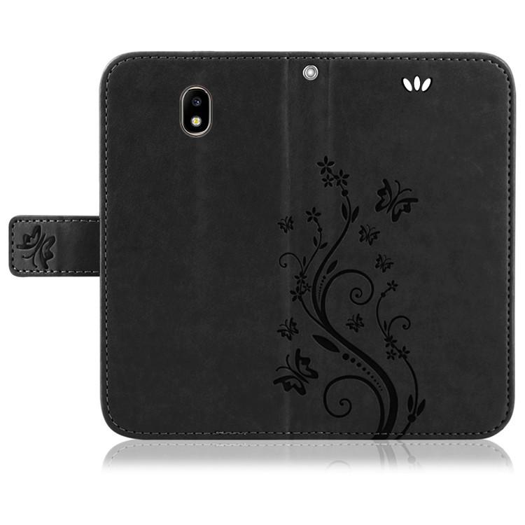 Samsung-Handy-Tasche-Handyhuelle-Schutz-Huelle-Blumen-Flip-Cover-Buch-Case-Etui Indexbild 154
