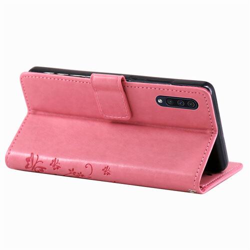 Elegant Bookcover Design: Samsung Galaxy A50 Handy Tasche Handyh Lle Wallet Case