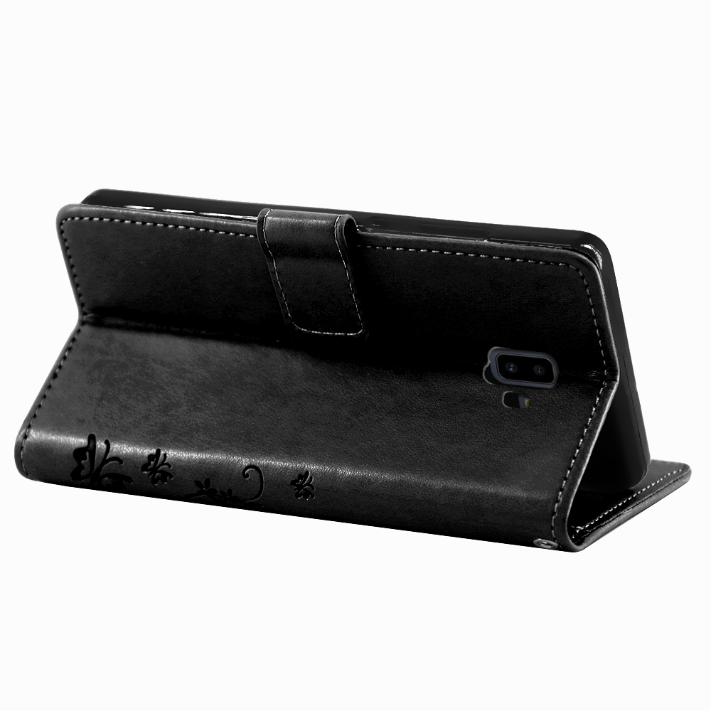 Samsung-Handy-Tasche-Handyhuelle-Schutz-Huelle-Blumen-Flip-Cover-Buch-Case-Etui Indexbild 185
