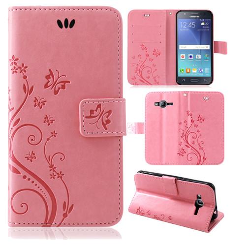 Samsung-Handy-Tasche-Handyhuelle-Schutz-Huelle-Blumen-Flip-Cover-Buch-Case-Etui Indexbild 162