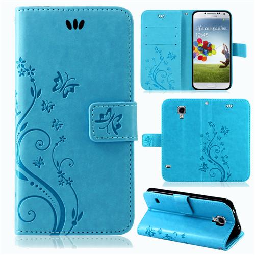 Samsung-Handy-Tasche-Handyhuelle-Schutz-Huelle-Blumen-Flip-Cover-Buch-Case-Etui Indexbild 24