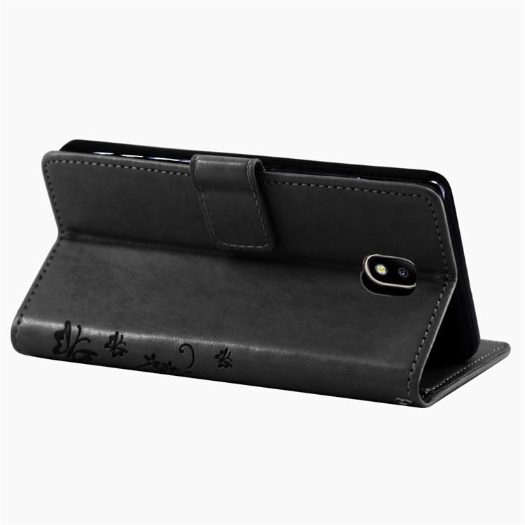 Samsung-Handy-Tasche-Handyhuelle-Schutz-Huelle-Blumen-Flip-Cover-Buch-Case-Etui Indexbild 155