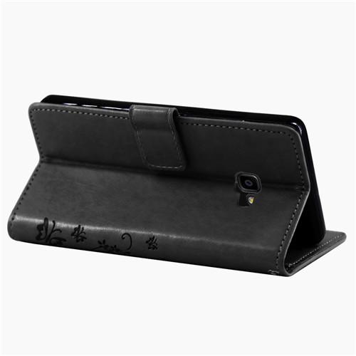 Samsung-Handy-Tasche-Handyhuelle-Schutz-Huelle-Blumen-Flip-Cover-Buch-Case-Etui Indexbild 202