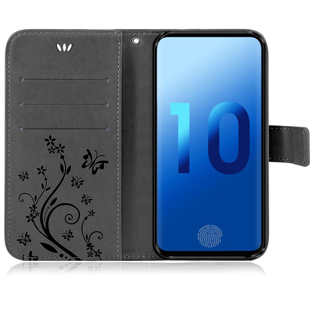 Samsung-Handy-Tasche-Handyhuelle-Schutz-Huelle-Blumen-Flip-Cover-Buch-Case-Etui Indexbild 87