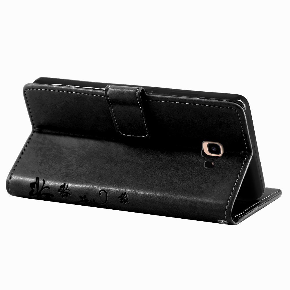 Samsung-Handy-Tasche-Handyhuelle-Schutz-Huelle-Blumen-Flip-Cover-Buch-Case-Etui Indexbild 175