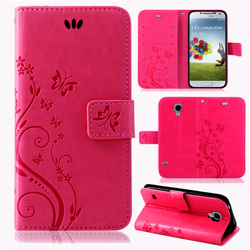 Samsung-Handy-Tasche-Handyhuelle-Schutz-Huelle-Blumen-Flip-Cover-Buch-Case-Etui Indexbild 25
