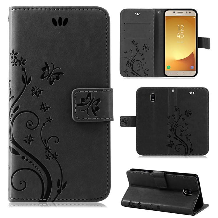 Samsung-Handy-Tasche-Handyhuelle-Schutz-Huelle-Blumen-Flip-Cover-Buch-Case-Etui Indexbild 168