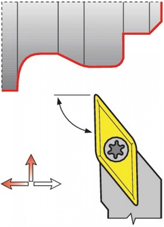 PROMAT Klemmdrehhalter SER 2020 K16 rechts  Außendrehen