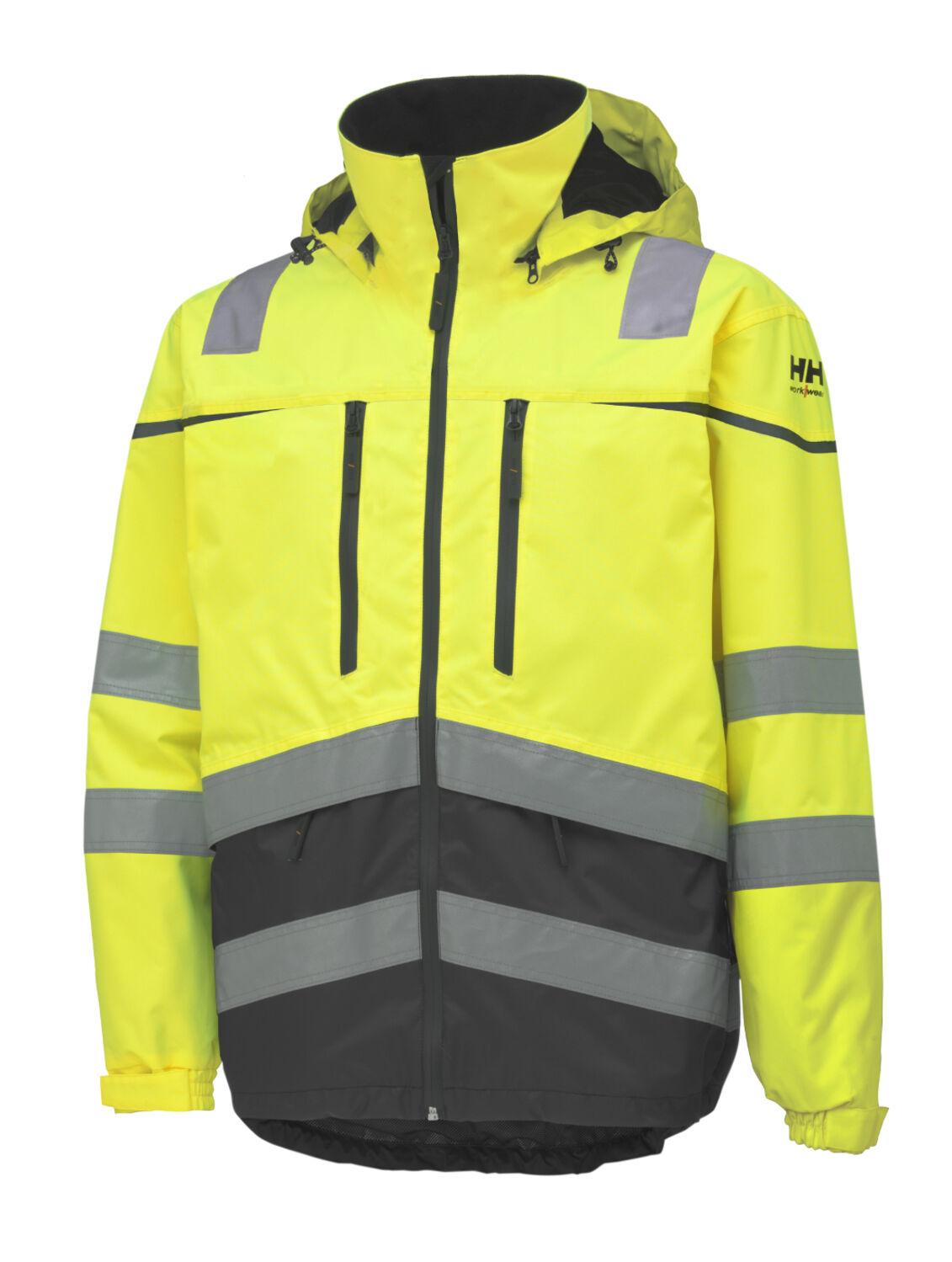 Helly Hansen Toensberg Arbeitsjacke Warnschutzjacke Winterjacke Jacke 71147