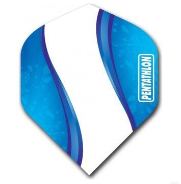 Pentathlon Vizion Spiro Standard Dart Flights Blue Dartflights 3er Set
