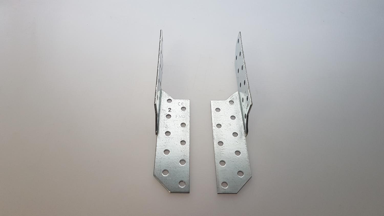 Sparrenpfettenanker 170 mm links /& rechts verzinkt 50 Stk. 0,35€//Paar