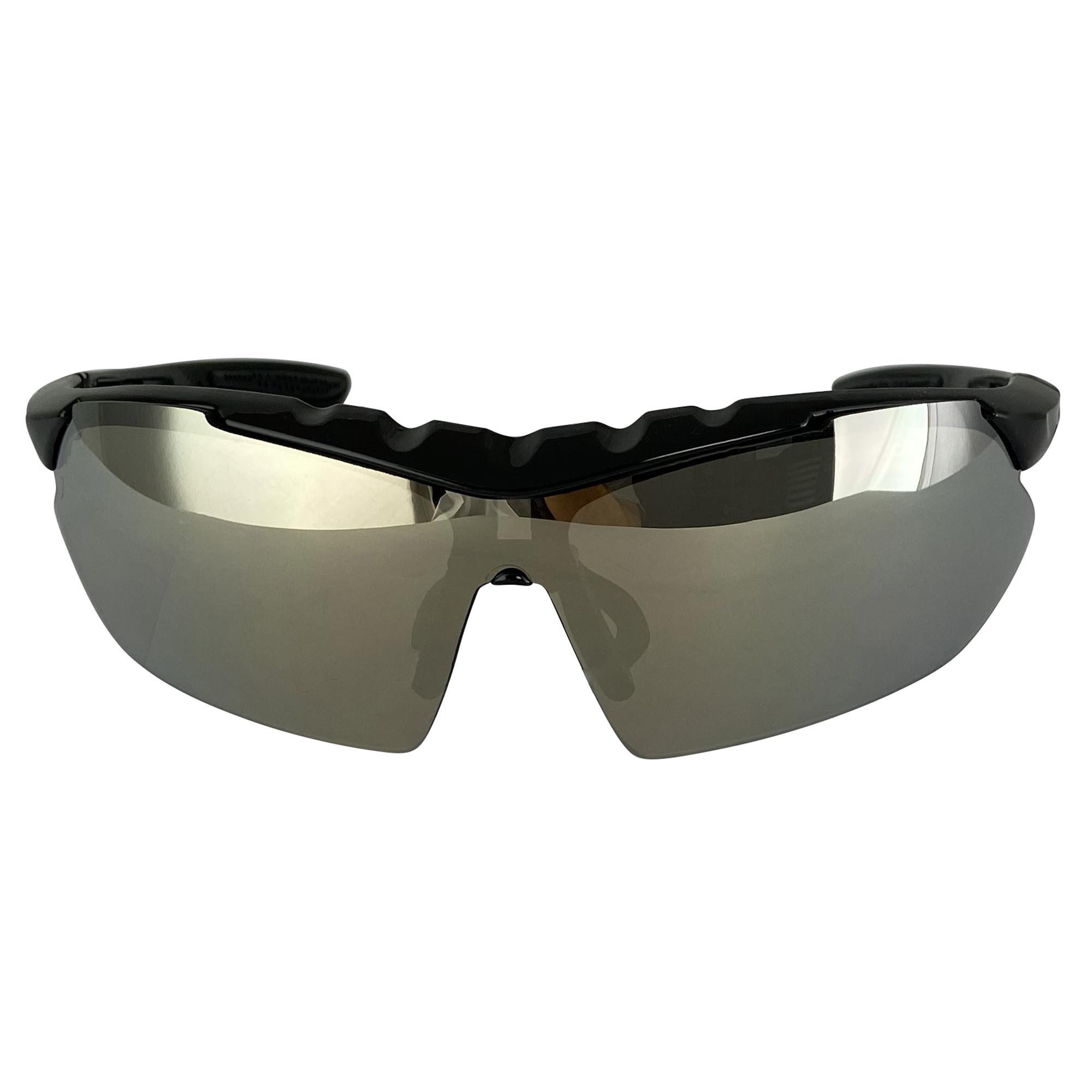 Sonnenbrille Sport Fahrrad Brille Sportstyle UV-400 Schutz CAT3 Unisex Herren Da