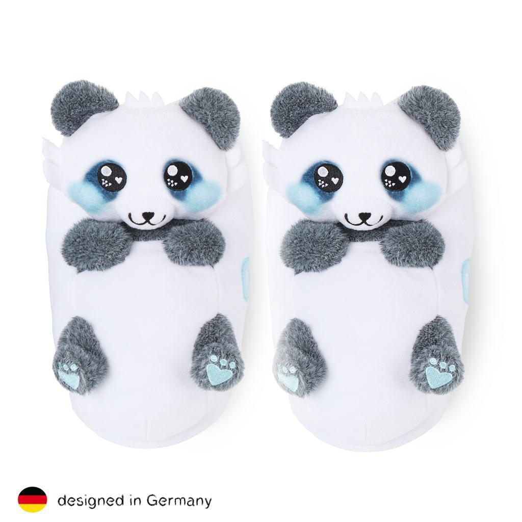 corimori Süße Panda Plüsch Tier-Husschuhe Pantoffeln Puschen Slipper Gr. 25-44