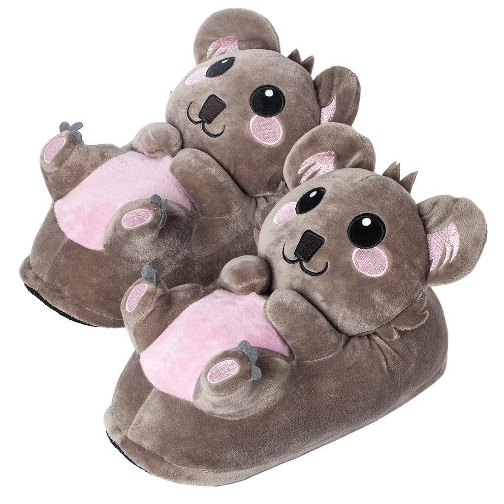 Gr. 25-44 corimori Koala Süße Plüsch Hausschuhe Pantoffeln Puschen Slipper