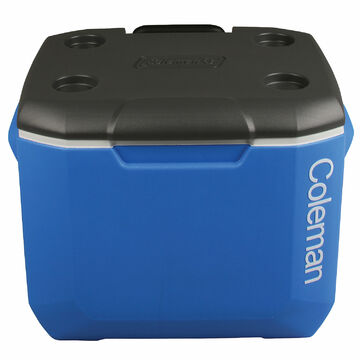 Coleman 60 QT Bleu//Gris Glacière Wheeled Trolley Isolierbox ThermoBox Neuf