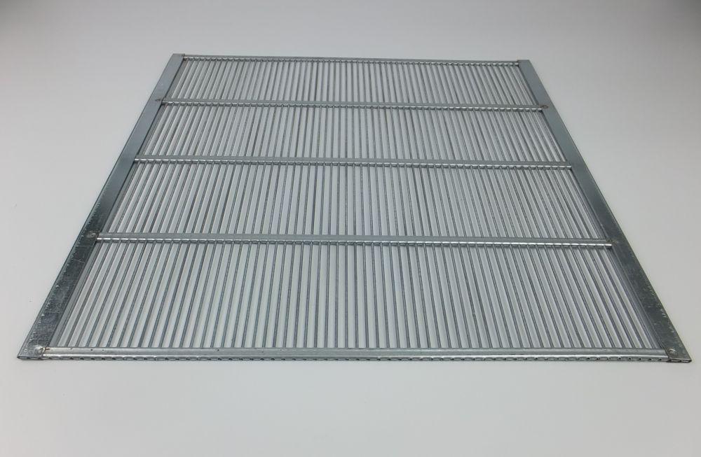 Absperrgitter Metall Dadant 10 Waben 384x473 mm Holz Bienen Imkereibedarf