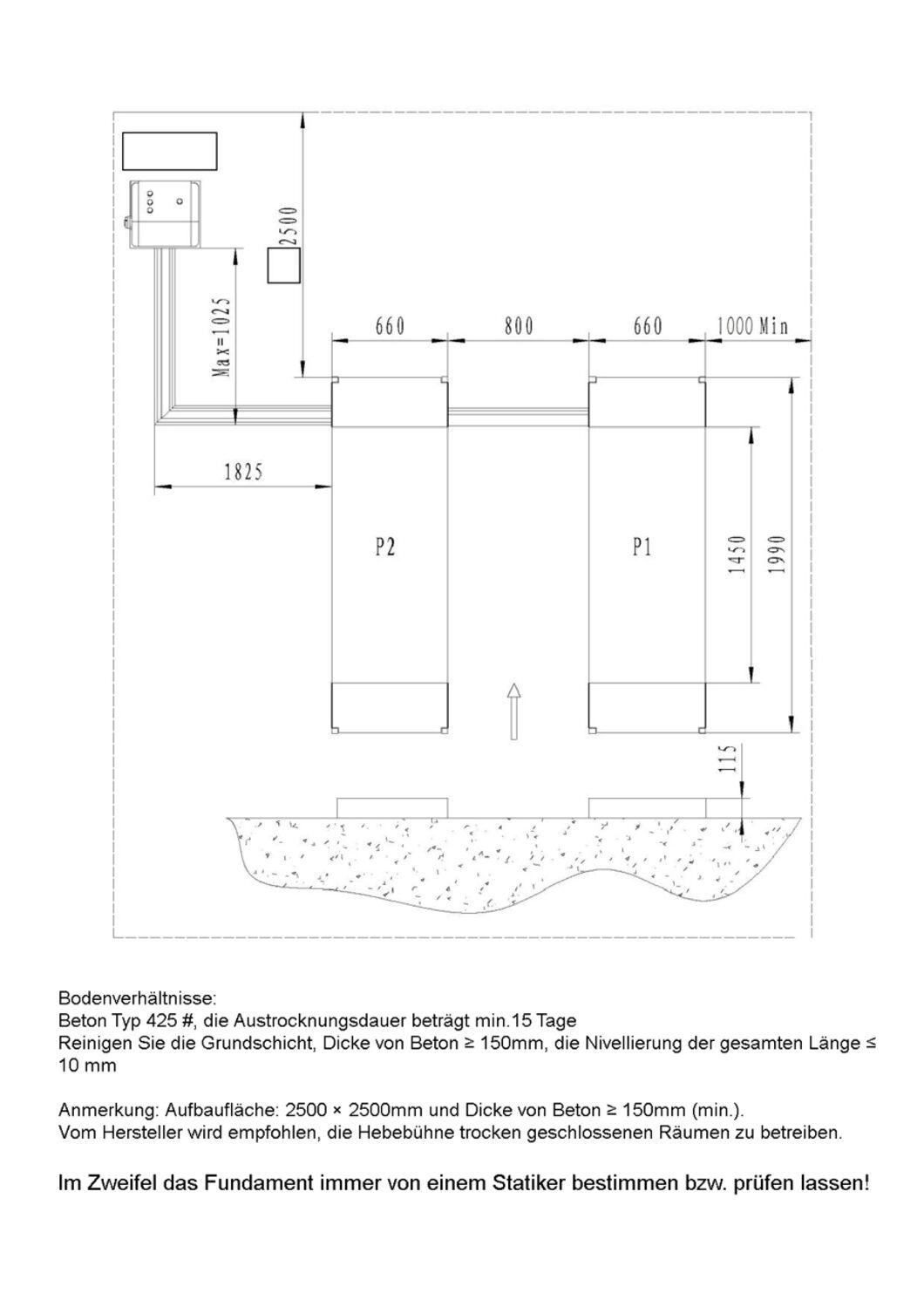 Gut bekannt Alwo Scherenhebebühne Überflur 3 Tonnen KFZ Hebebühne Doppel ON97