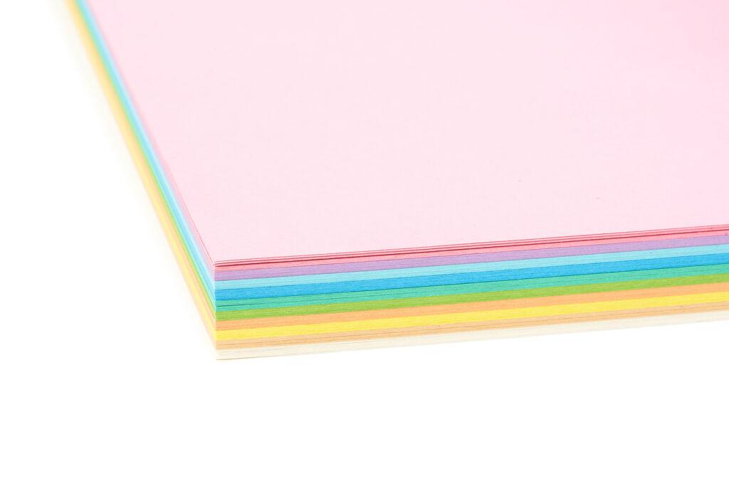 Blatt Papier Dicke