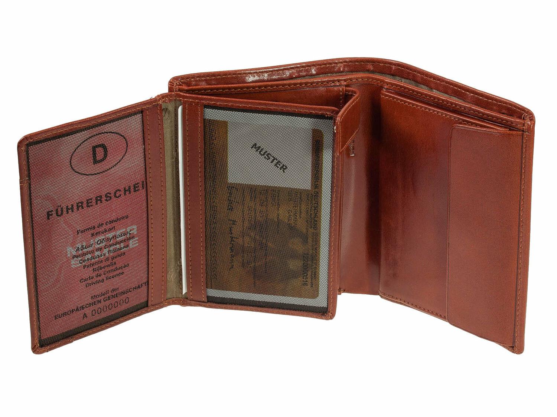 Portemonnaie Geldbeutel Toscana Esquire Herrenbörse Leder